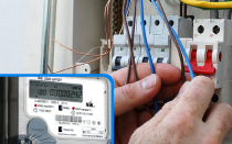 Как установить электросчетчик в гараже