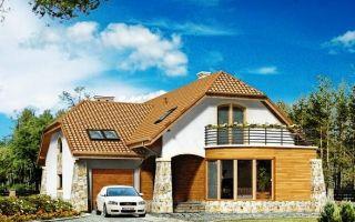 Строим частный дом с гаражом: полезные советы