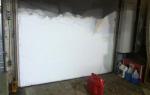 Утепление гаражных ворот своими силами