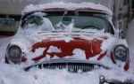 Хранение автомобиля зимой в гараже