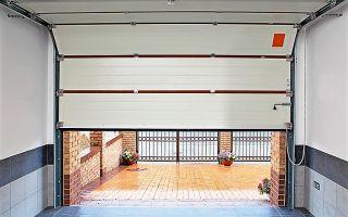 Установка секционных гаражных ворот своими руками