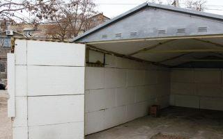 Температура в гараже зимой