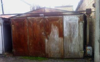 Как выпрямить ворота гаража
