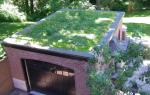 Выполнение ремонта крыши гаража