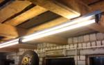 Освещение для неотапливаемой мастерской гаража
