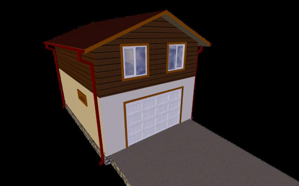 Строительство двухэтажного гаража купить контейнер под гараж