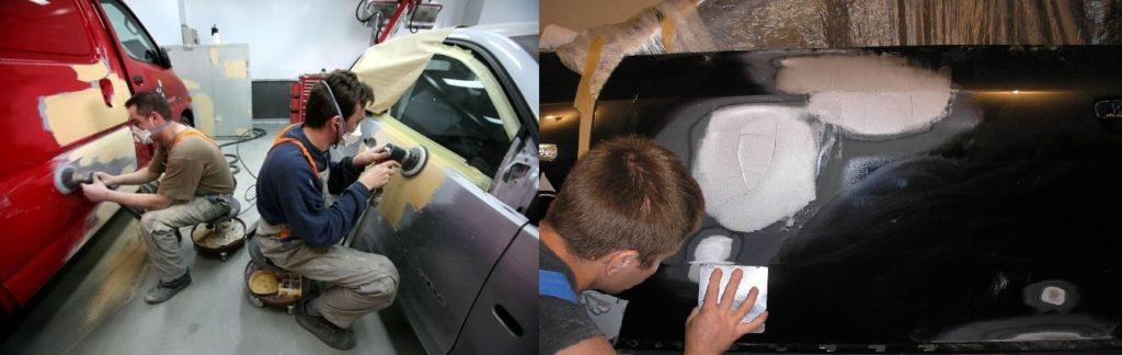 покраска авто своими руками