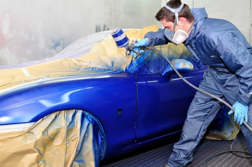 Покраска автомобиля своими руками материалы