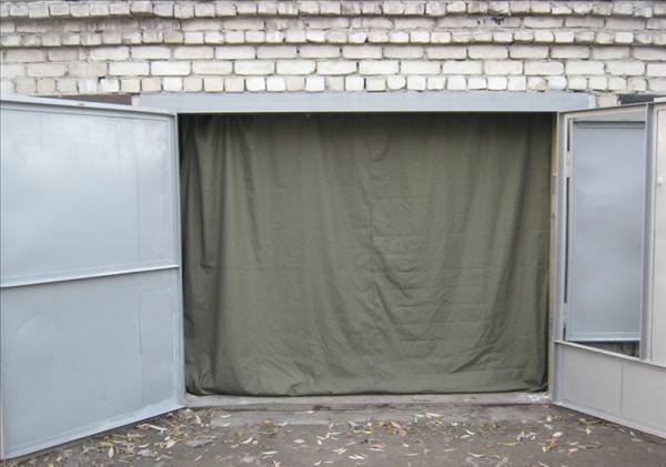 шторы в гараж