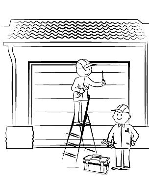 монтаж гаражных ворот своими руками