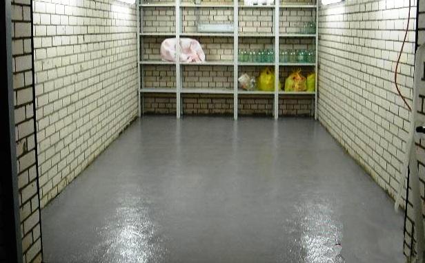 готовый бетонный пол