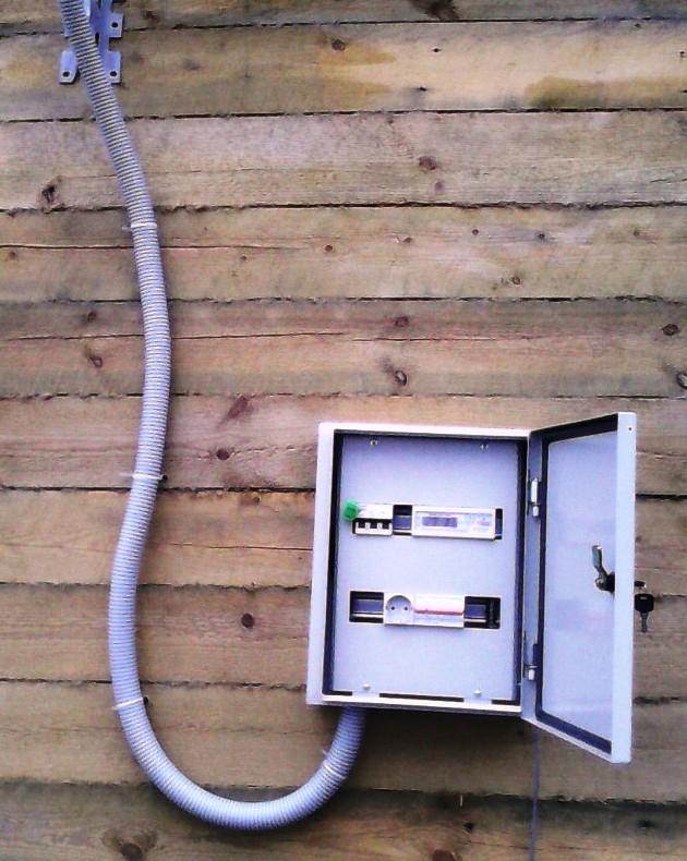 Провести свет официально в гараж окдп присоединение к электрическим сетям