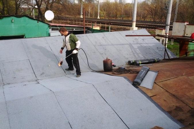 изоляция металлической крыши