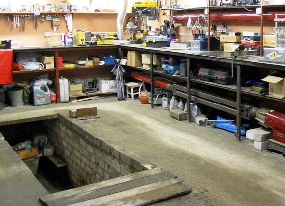 мастерская в гараже