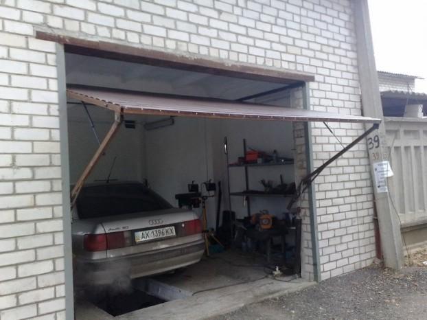как отпределить размер ворот гаража
