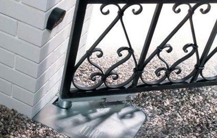 подземный привод для ворот