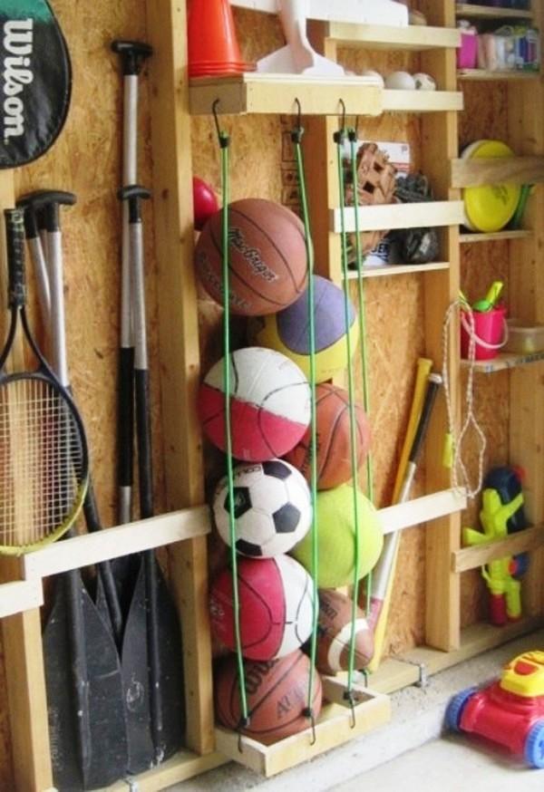 хранение мячей