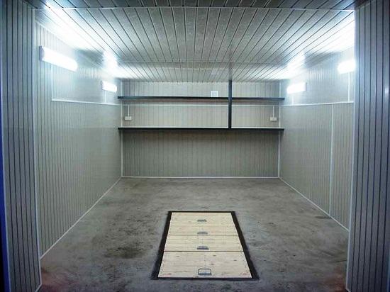 ремонт смотровой ямы гаража