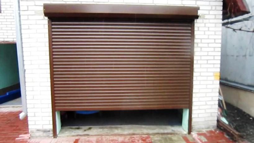 размер гаражных ворот