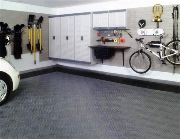 внутреннее обустройство гаража