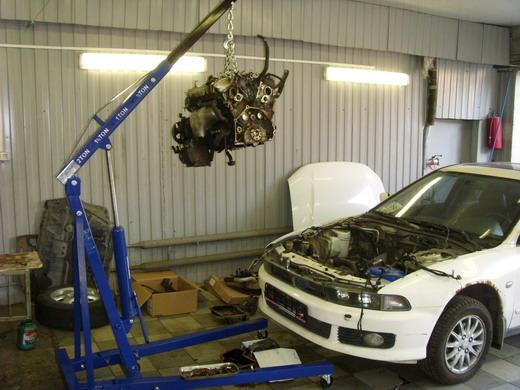 ремонт авто в гараже