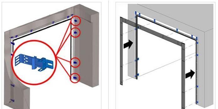монтаж гаражных секционных ворот