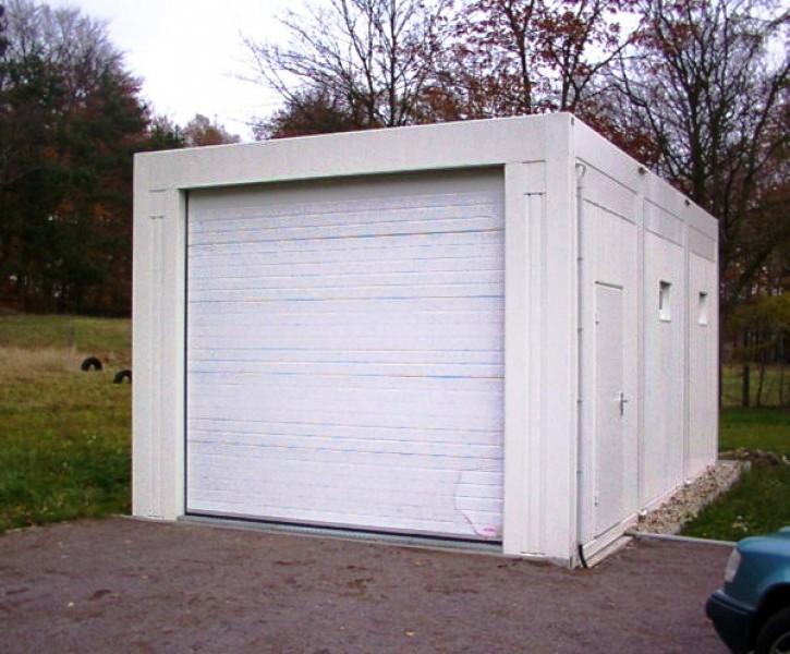 контейнерный гараж